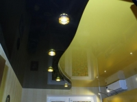 двухуровневые натяжные потолки16-01