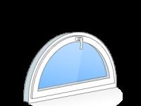 Полукруг окна