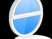 Разделенные импостом окна