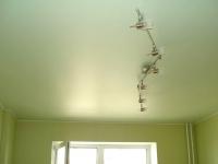 Сатиновые натяжные потолки1