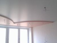 Сатиновые натяжные потолки4